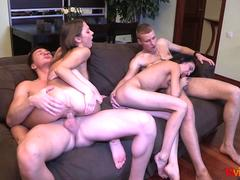 18 videoz   perfect double date with swinger sex