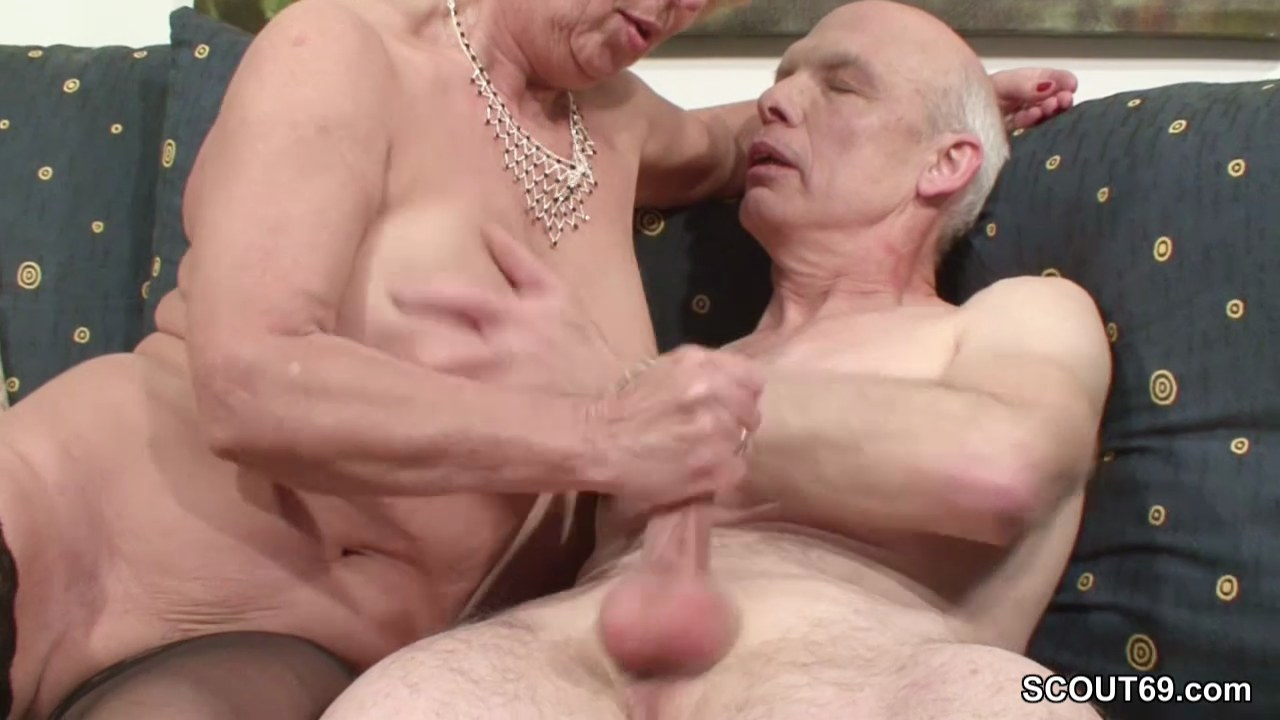 oma sex with young guy