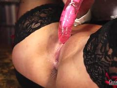Candy is caught dildo fucking her pussy by her boss preview