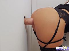 Latina babe Susy Gala slides a big cock in her pussy