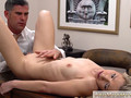 Perfect amateur beauty knows how to satisfy her doctor by sucking his huge cock and then spreading her legs for him
