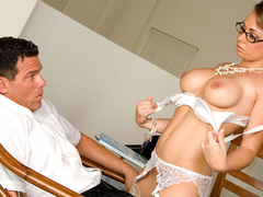 Stockings secretary holly west hardcore