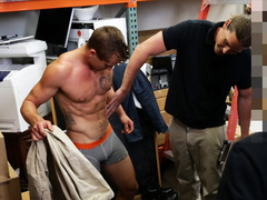 pawn shop gets to have some dick sucking fun