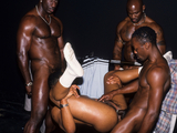 Awesome Black Gays Fucking in Gym