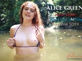 Alice Green and Patrick Delphia in a sexy public video