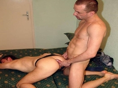 Intense Gay Men Barebacking Action