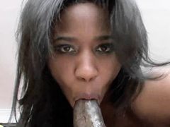 Black MILF Jade Nicole is getting her ebony twat stuffed
