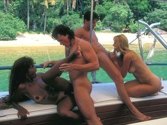 Anal Orgy on the sea - PrivateClassics