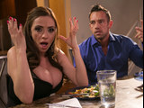 Wife Ariella Ferrera and her angry husband